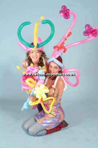 Carnival Themed Balloon Modellers