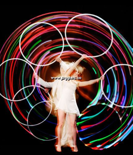 Olympic Themed Hula Hoop Acts