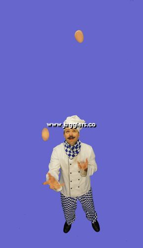 Egg Juggling Chef